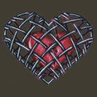 caged heart by eddiehollomon