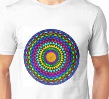 Multi-Colored Mandala Unisex T-Shirt