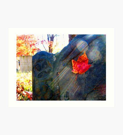 Gove Hill Cemetary Art Print