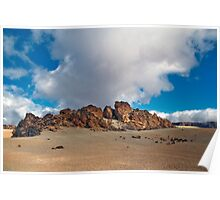 El Teide: Pumice Rocks Poster