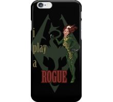 I play a ROGUE iPhone Case/Skin