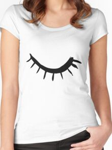 Wink  Women's Fitted Scoop T-Shirt