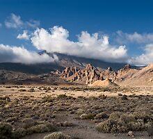 El Teide: Roques de Garcia Panorama by Kasia-D