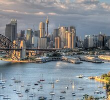 Open Wide - Sydney Harbour - The HDR Experience by Philip Johnson