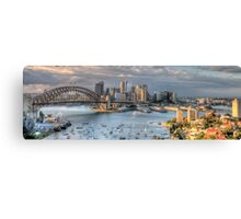 Open Wide - Sydney Harbour - The HDR Experience Canvas Print