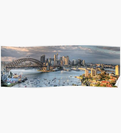 Open Wide - Sydney Harbour - The HDR Experience Poster