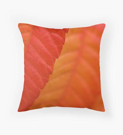Sumac Leaf Throw Pillow
