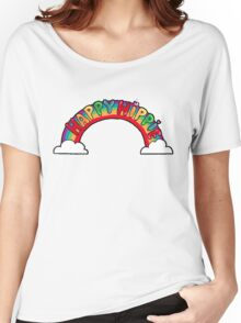 Happy Hippie: Logo Women's Relaxed Fit T-Shirt
