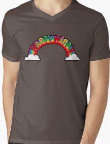 Happy Hippie: Logo Mens V-Neck T-Shirt