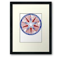 Discraft Ultrastar (White) Framed Print