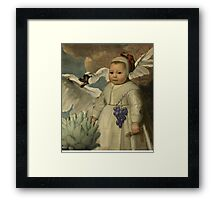 Intense Eyes Framed Print