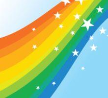 Sparkle Rainbow Sticker