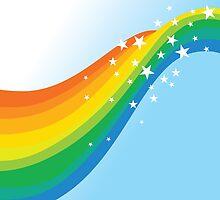 Sparkle Rainbow by JolenesTrailer