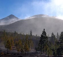 El Teide: Through the Mist by Kasia-D