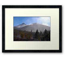 El Teide: Through the Mist Framed Print