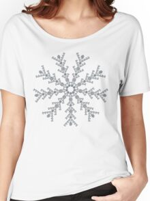 Ice Snowflake Women's Relaxed Fit T-Shirt