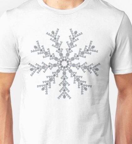 Ice Snowflake Unisex T-Shirt