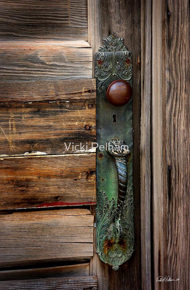Textured Elegance of the Past by Vicki Pelham