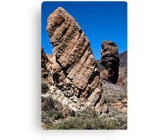 El Teide: Roques de Garcia and Chinchado Canvas Print
