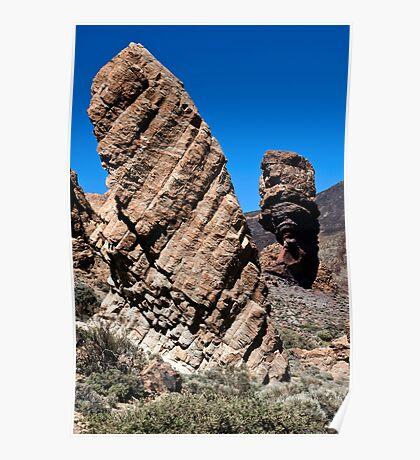 El Teide: Roques de Garcia and Chinchado Poster