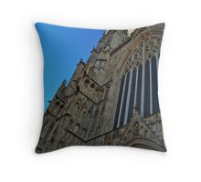 West Elevation Throw Pillow