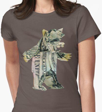 Bear Market Womens Fitted T-Shirt