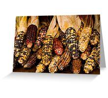 Corn A Plenty Greeting Card
