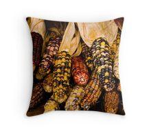 Corn A Plenty Throw Pillow