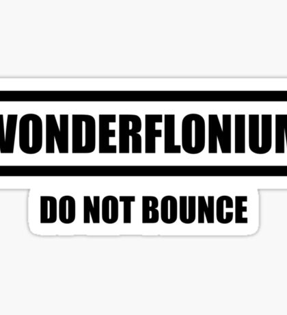 Wonderflonium Sticker