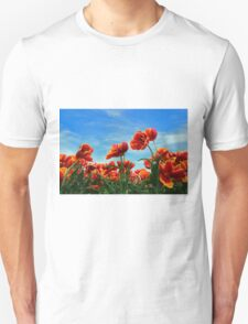 A field of Orange Tulips T-Shirt