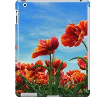 A field of Orange Tulips iPad Case/Skin