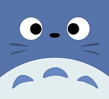 Blue Totoro by CanisPicta