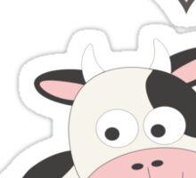 I heart Cows Sticker