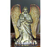 Angel Shimmering Light Photographic Print