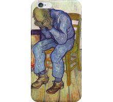 Vincent Van Gogh at eternity's gate  iPhone Case/Skin