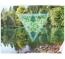 Pondrilateral Nature Shape Poster