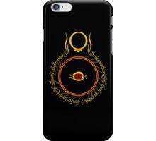 The Eye of Sauron iPhone Case/Skin