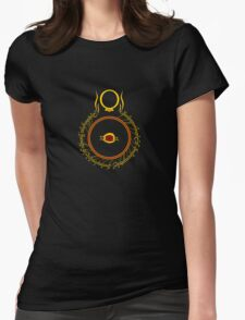 The Eye of Sauron Womens Fitted T-Shirt