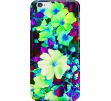 Neon Flowers iPhone Case/Skin