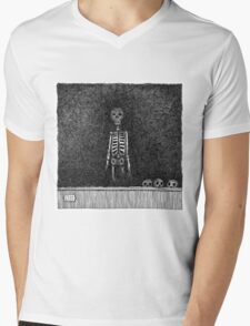 Late Guest Mens V-Neck T-Shirt