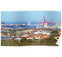 Fremantle Harbour Poster