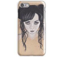 Realism Charcoal Drawing of Apnea/Apneatic iPhone Case/Skin