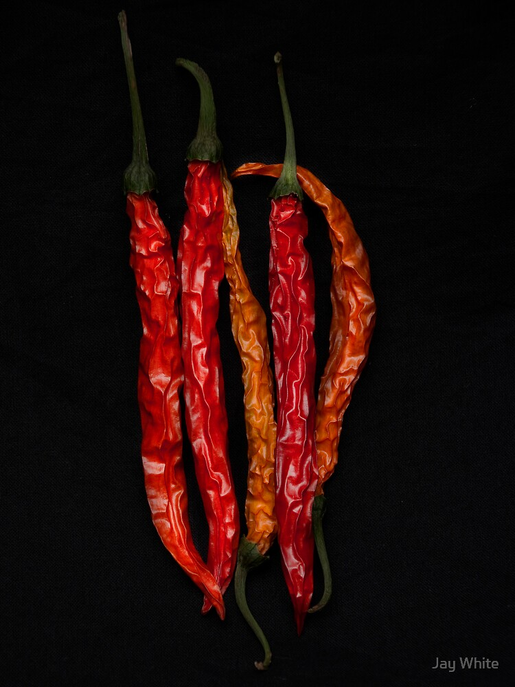 Tired Peppers by Jay White