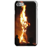 Father Time Aflame iPhone Case/Skin