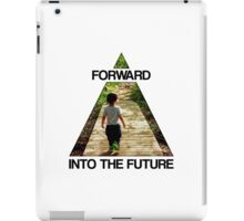 Forward Into the Future iPad Case/Skin