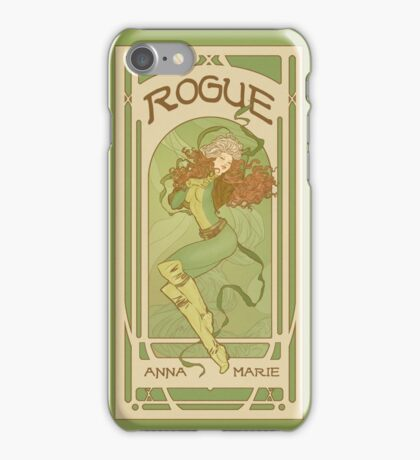 Art Nouveau Rogue iPhone Case/Skin