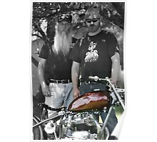 Big Bo / Lil' Bo ~ Motorcycle Project Build 2009 Poster