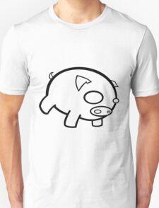 pig, be plain. T-Shirt