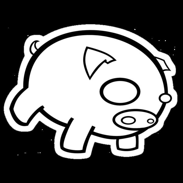 pig, be plain. by celestina