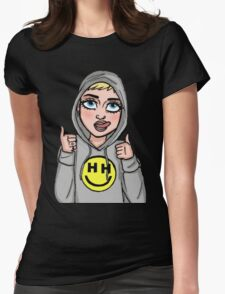 Happy Hippie Foundation Logo [Hoodie] Womens Fitted T-Shirt